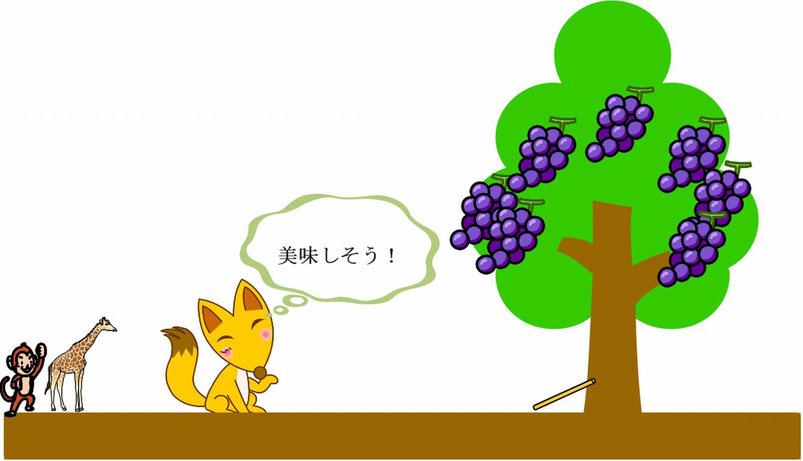 狐と葡萄~言い訳は自己正当化するだけで、何も変わらない~