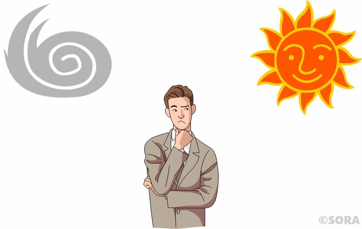 北風と太陽の大きな誤り